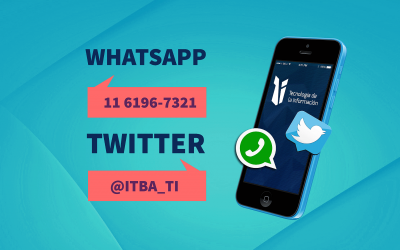 Twitter y Whatsapp