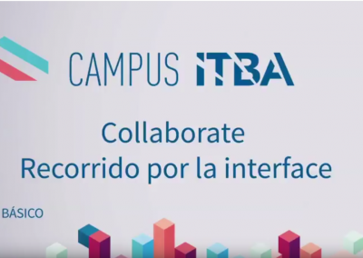 15. Recorrido por la interface BB Collaborate