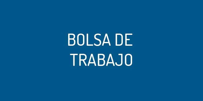 BOLSA DE TRABAJO